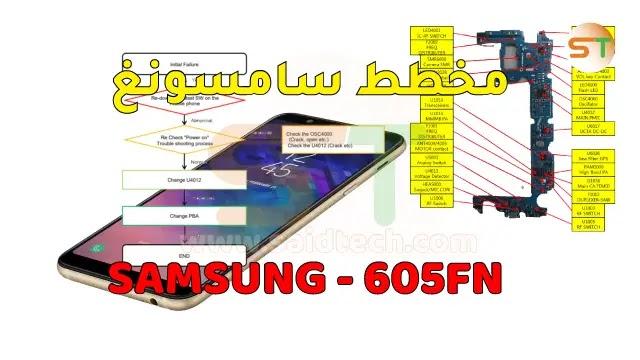 مخطط Schematics Samsung A6+ 2018 SM-A605FN