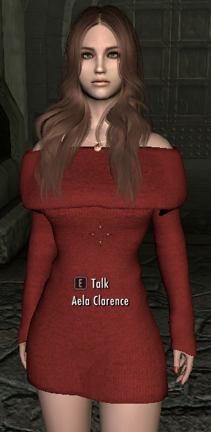 skyrim mods highlights sweater dresses and accessories