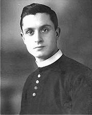 Carlo Gnocchi as a young priest