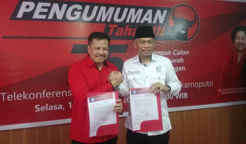Lukita dan Abdul Basyid Resmi Mendapatkan Rekomendasi dari DPP PDI-P Maju Pilwako Batam 2020