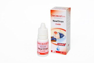 Decozal nasal drop for adults and children