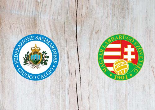 San Marino vs Hungary -Highlights 28 March 2021