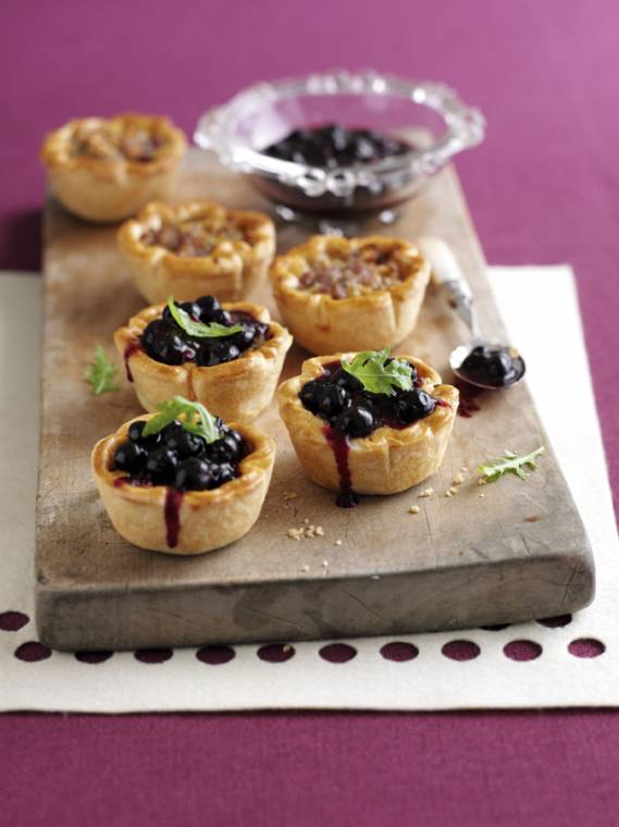 Blueberry Glazed Pork Pies: Perfect For Afternoon Tea