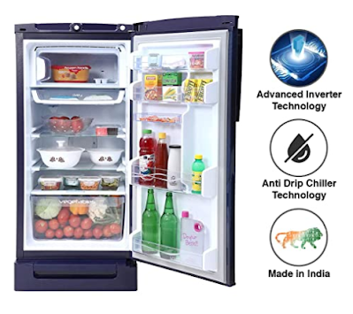 Godrej 190 L 5 Star Inverter Direct-Cool Single Door Refrigerator for Every Needs for Refrigeration