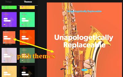 pilih themes