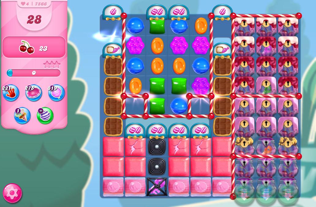 Candy Crush Saga level 7566