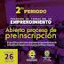 Alcaldía abre inscripciones para programa de formación en emprendimiento.