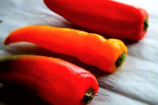 ricetta peperoni forno light