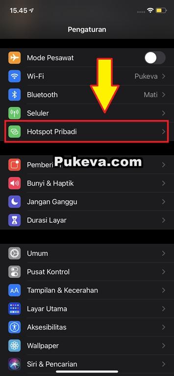 Cara Setting Personal Hotspot di Semua iPhone dan iPad ...