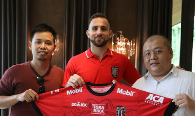 Ilija Spasojevic Resmi Gabung Bali United