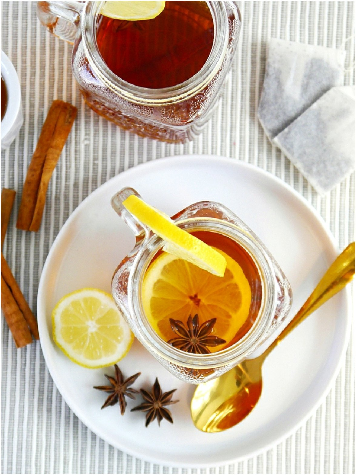 Spiced Earl Grey Hot Toddy
