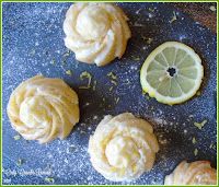 Individual Mini Bundt Cakes flavoured with Lemon & Cardamom
