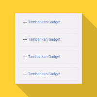 Cara Menambah Slot-Widget Sidebar Template Evo Magz