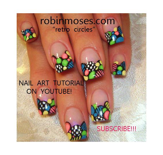 """Robin Moses Nail Art: """"pink money nail art design"""" """"retro ..."""