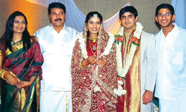 Malayalam Actor Mammootty Family Pics - MERE PIX