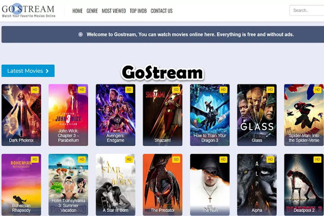 GoStream : Free Movie Streaming Sites No Sign Up