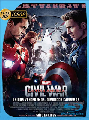 Capitán América Civil War (2016) HD [1080p] Latino [GoogleDrive] DizonHD