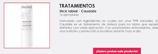probar gratis labial Caudalie Free Cosmetic Testing
