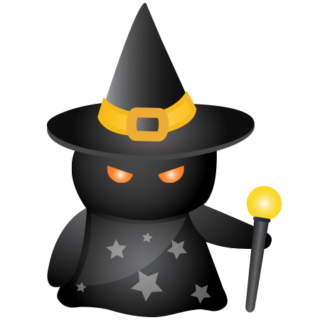 Spooky Witch Halloween icon
