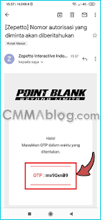 buat akun Point Blank