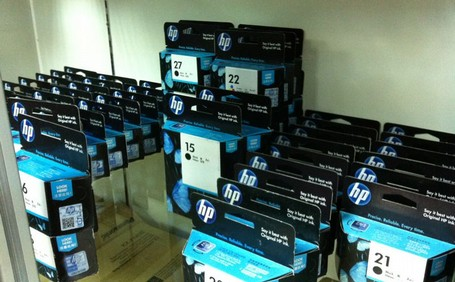 HP Fake Printer Cartridge