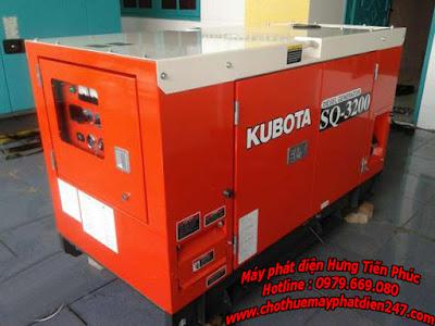 Máy phát điện Kubota 20kva SQ-3200