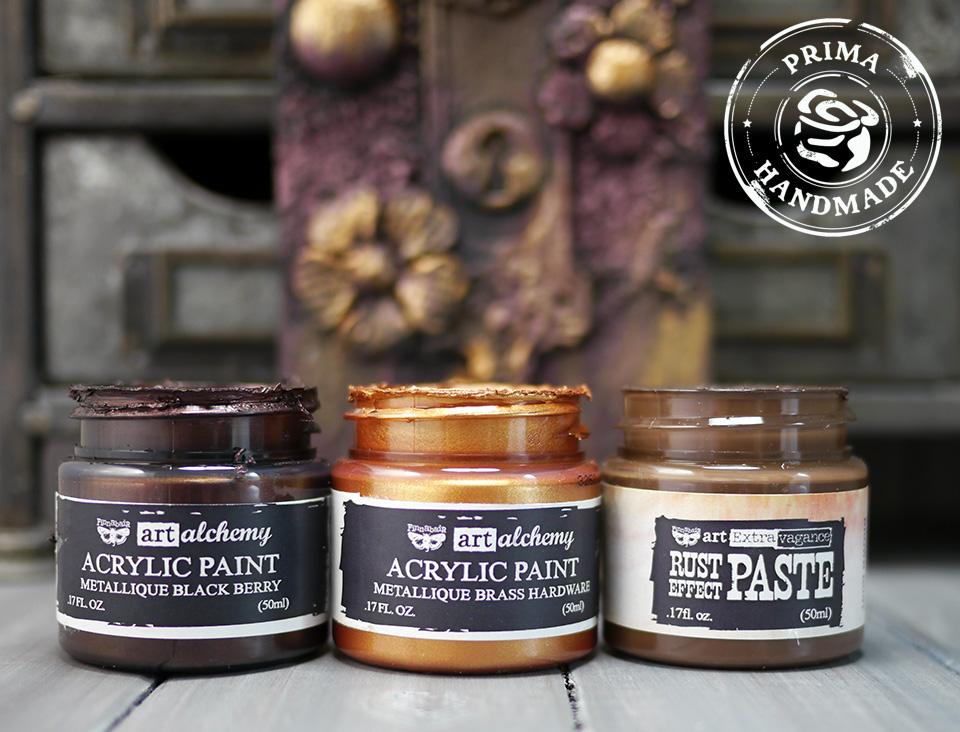 Acrylic Paint Ingredients