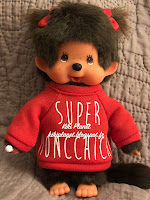 Monchhichi Fille Sweat Super Monchhichi 84998