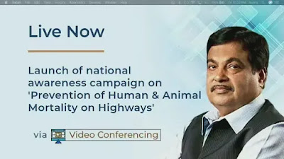Gadkari launches national awareness campaign on Prevention of Human and Animal Mortality on Highways: Key Highlights