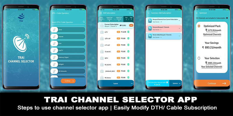 CHANNEL SELECTOR APP | steps to use channel selector app