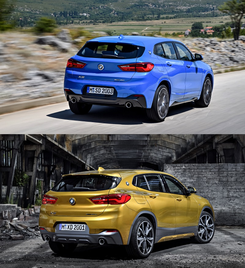 2018 BMW X2 sDrive20i, sDrive20d M Sport Review