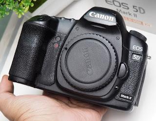 Canon EOS 5D Mark II Body Only Bekas
