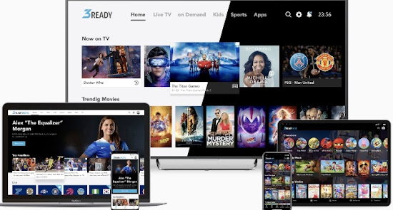 TCC Cable and OTT Service Provider Next Generation Android Hybrid TV Service with 3ss