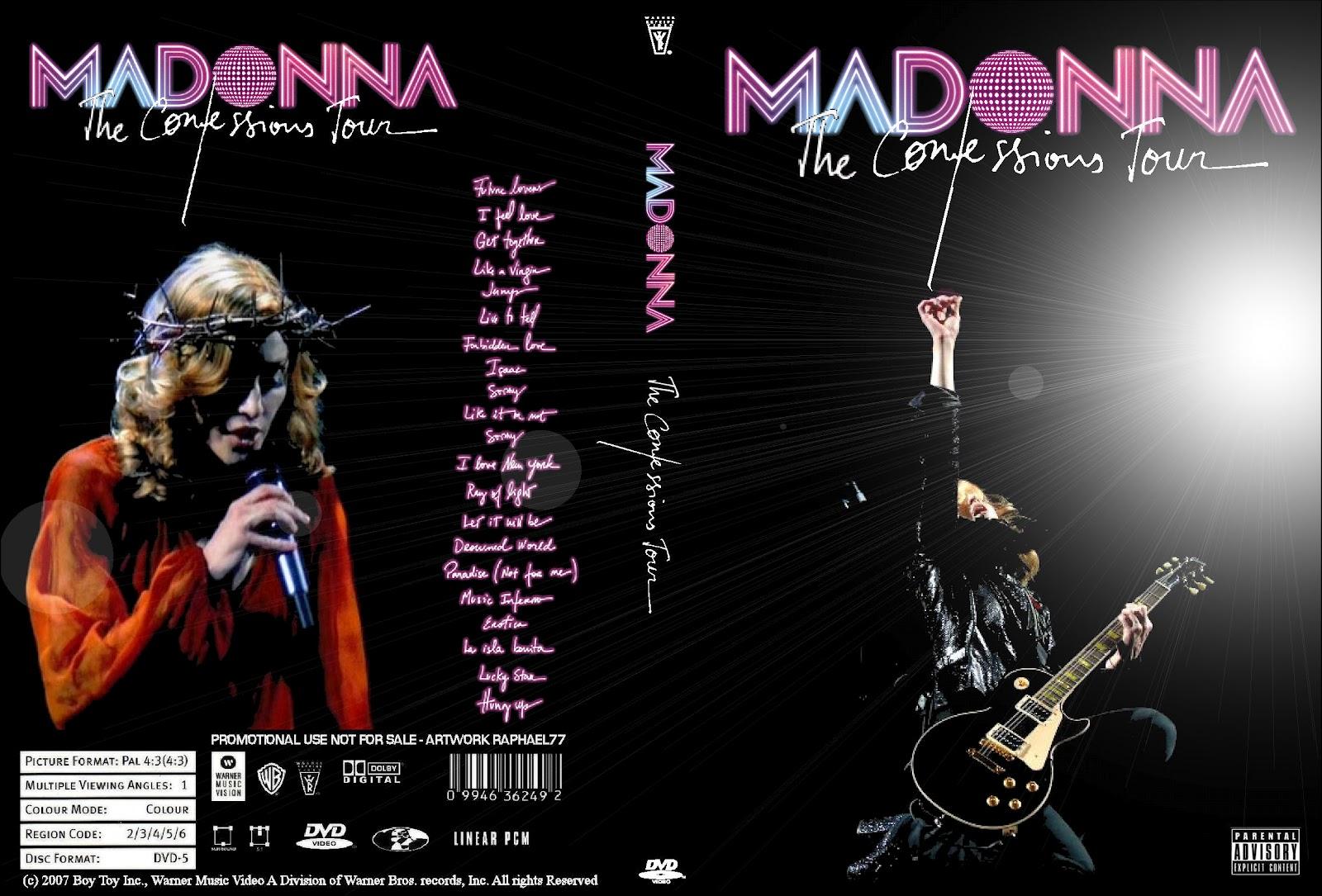 madonna confessions tour poster - photo #28