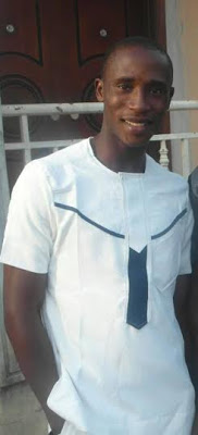 22yr old Corps member, Igali Ifiemi, found dead by the roadside at berger in Lagos.