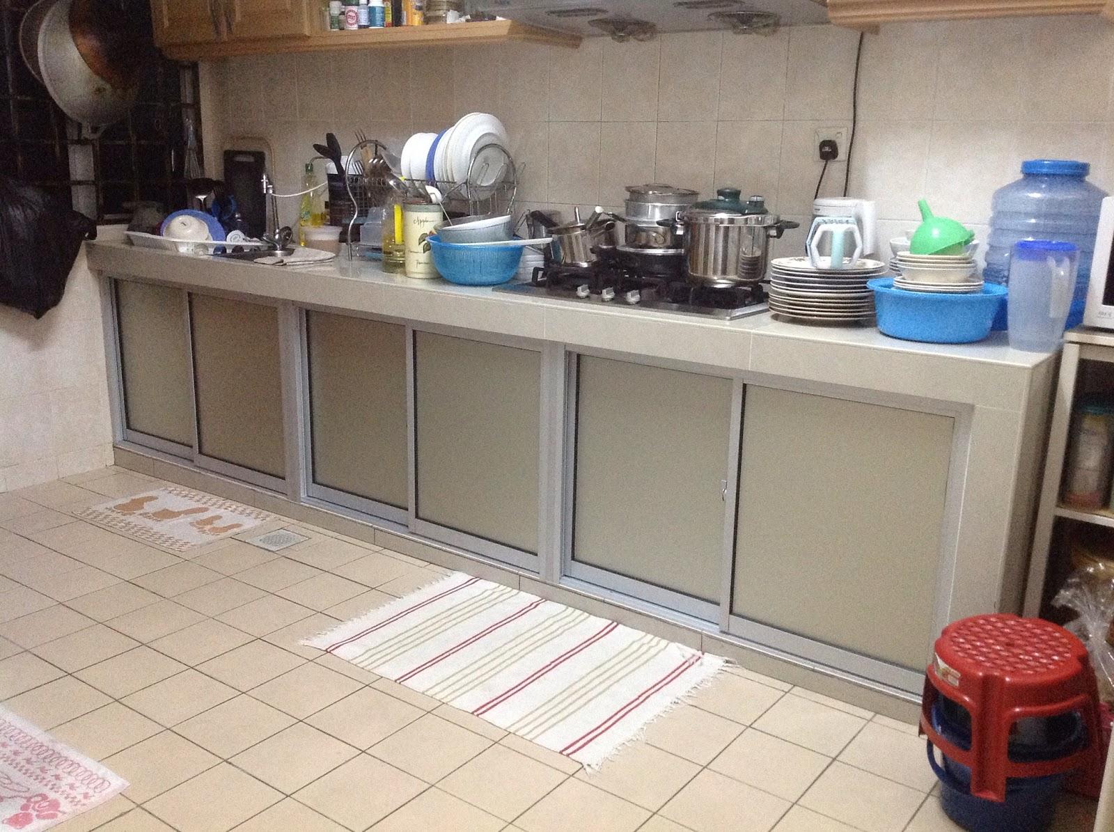 Pintu Kabinet Dapur Yang Baru Aluminium Fiber