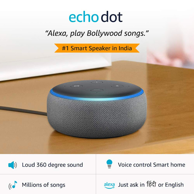 Amazon's Echo Dot for 3rd Generation