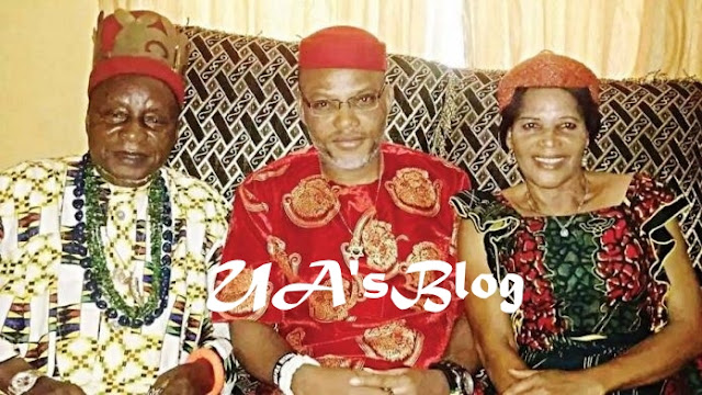 BREAKING: Nnamdi Kanu To Storm Parents Burial February 14