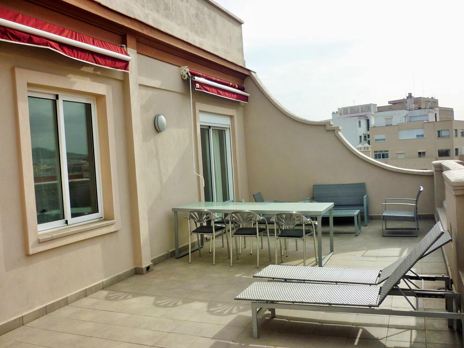 Malaga - Espagne - location - vacances - appartement - terrasse - centre-ville