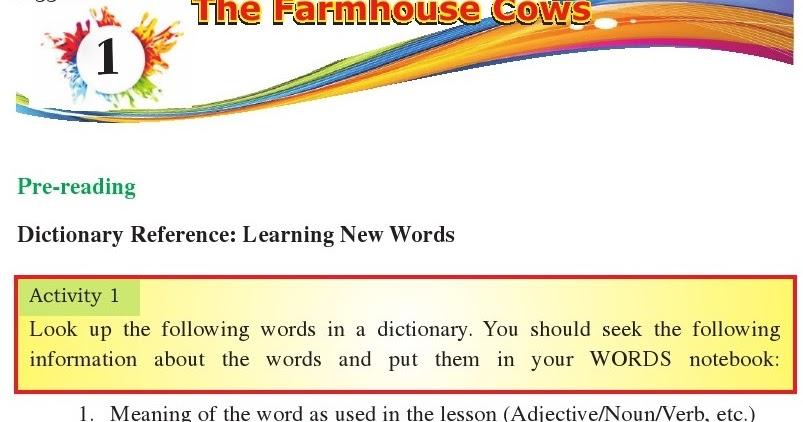 1 The Farmhouse Cows English