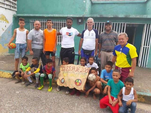 APURE: Un éxito festival Fútbol Calle en la comunidad de Centro Valle