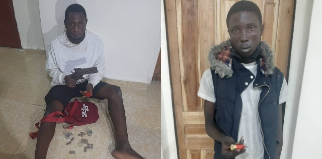 Deadly robber, cultist Timothy, Toheeb busted in Lagos