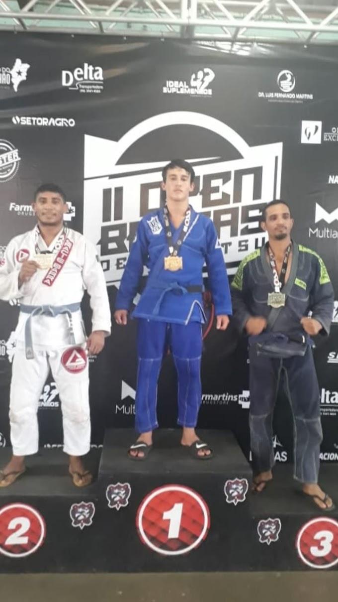 Chapadinhense é campeão do II Open Balsas de Jiu-Jitsu