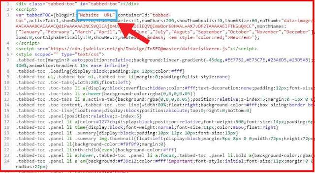 Copy Code and Change Website URL