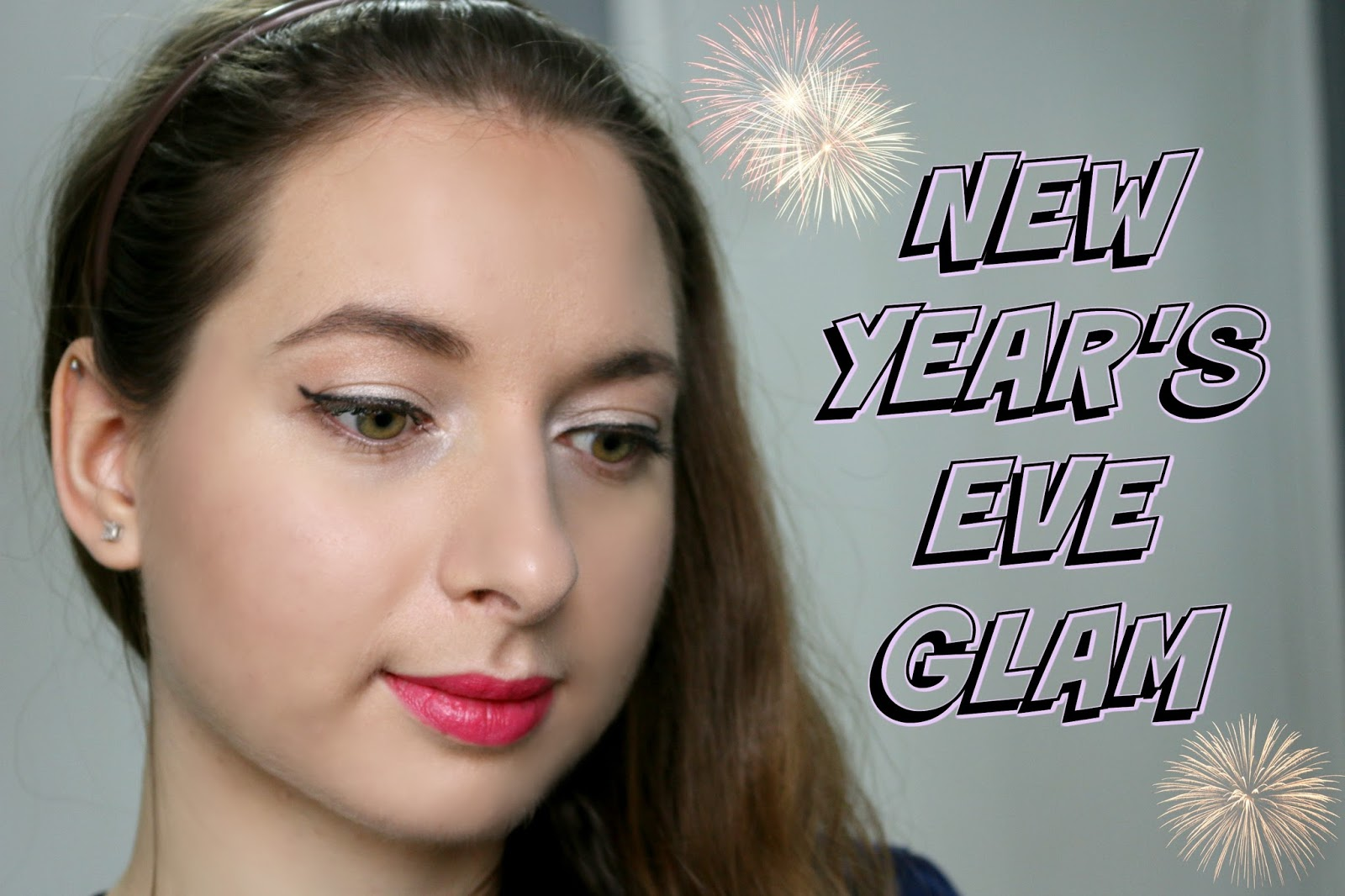 New Year's Eve Glam Makeup Tutorial