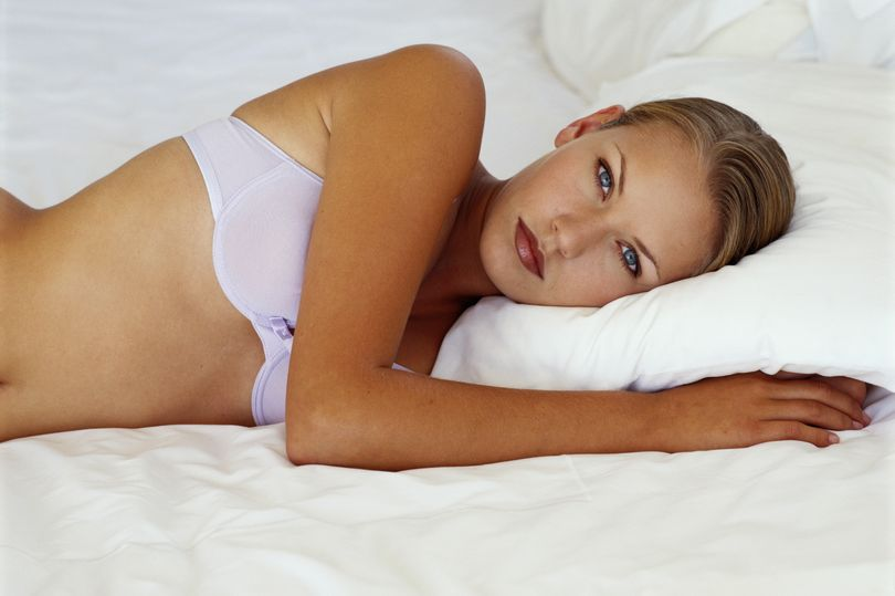 One celeb suggests wearing a bra in bed keeps boobs perky