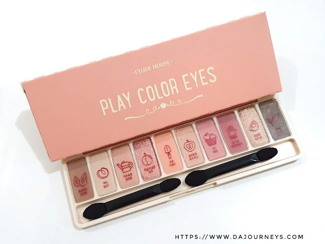 Review Etude House Play Color Eyes Palette Peach Farm