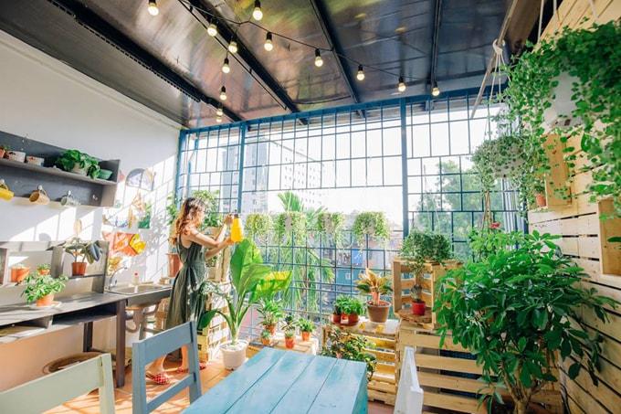 5 homestay xinh xắn như quán cà phê ở Hà Nội - Ảnh 1