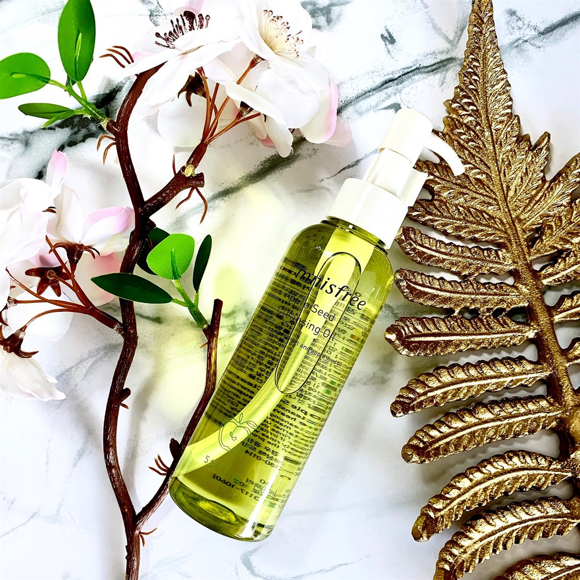 Innisfree Apple Seed Cleansing Oil nowa wersja blog