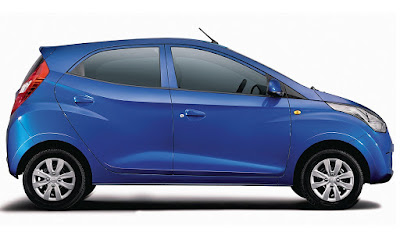 Hyundai EON side profile